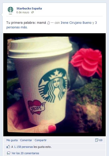 Starbucks. Primera palabra