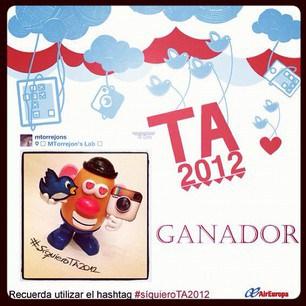 Concurso instagram TA2012