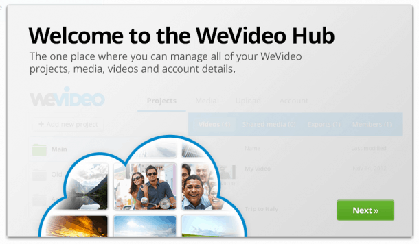 Wevideo_Hub