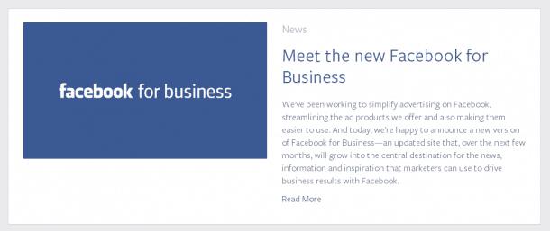 Facebook para los Negocios. Socialancer