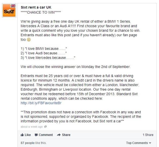 7 cosas que debes tener en cuenta antes de lanzar una promoción en Facebook