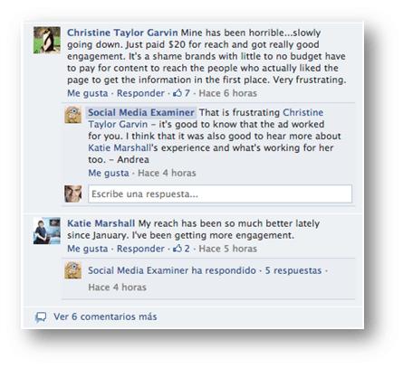 Responder a comentarios Facebook Socialancer