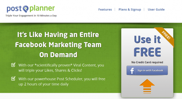 Postplanner Facebook Marketing