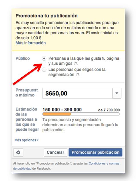Promocionar publicacion facebook socialancer1 Facebook Ads: los 12 errores más comunes al organizar una campaña