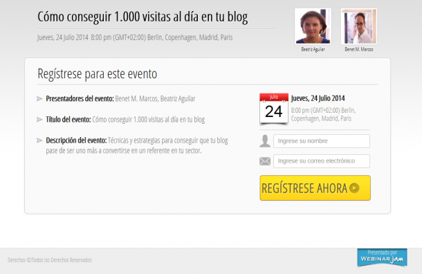 Webinar 1.000 visitas blog e1404938491500 Cómo conseguir 1.000 visitas al día en tu blog