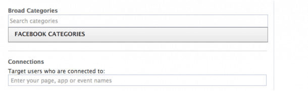 Categorías de socios Facebook e1407231221122 Cómo saltarte las restricciones de Facebook para llegar a más usuarios