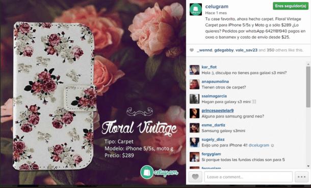 Celugram Instagram e1413394428505 7 ideas para utilizar Instagram en tu eCommerce