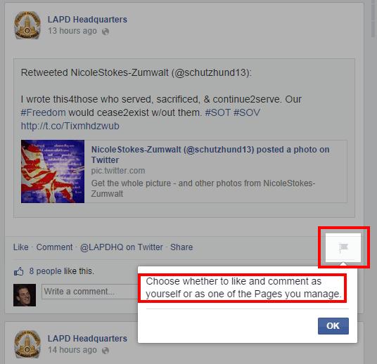 Comment as a page 1 [Novedad Facebook] Ya puedes gestionar los comentarios de forma más eficiente