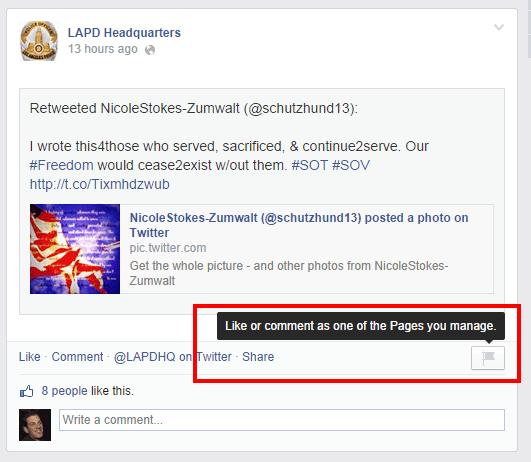 Comment as a page 2 [Novedad Facebook] Ya puedes gestionar los comentarios de forma más eficiente