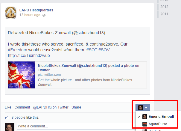 Comment as a page 3 [Novedad Facebook] Ya puedes gestionar los comentarios de forma más eficiente
