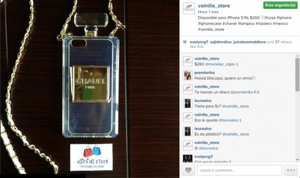 Vainilla Store e1413396460550 7 ideas para utilizar Instagram en tu eCommerce