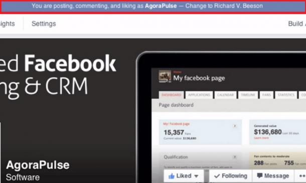 comment as a page old version 1 e1414625278796 [Novedad Facebook] Ya puedes gestionar los comentarios de forma más eficiente