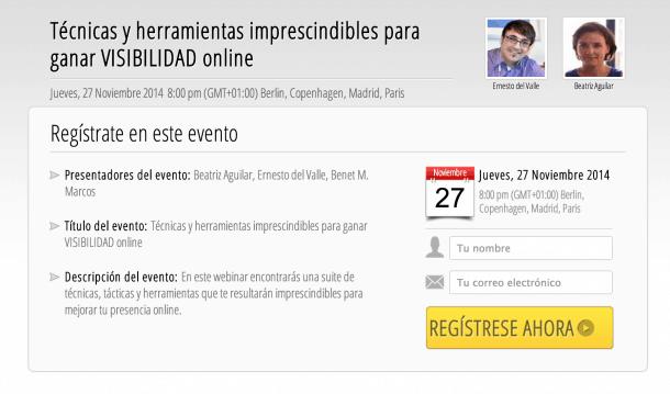 Captura de pantalla 2014 11 21 a las 12.00.22 e1416581440705 Técnicas y herramientas imprescindibles para ganar VISIBILIDAD online