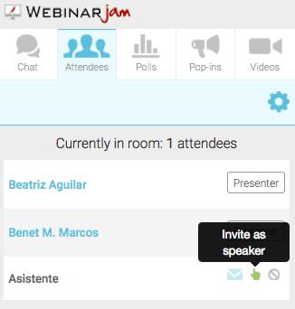 Participantes WebinarJam