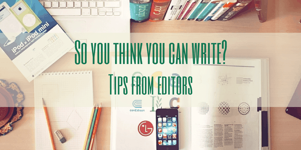 Tips from Editors