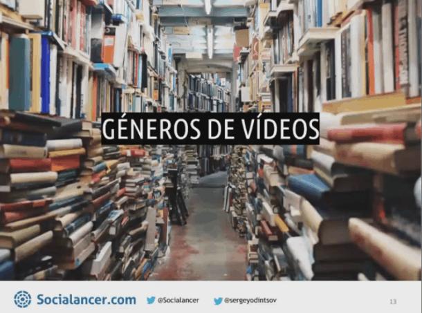 Géneros de vídeo