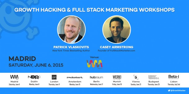 growth hacking madrid e1432670669418 ¿Por qué Growth Hacking? Cómo Airbnb y Uber innovan en Marketing y Producto