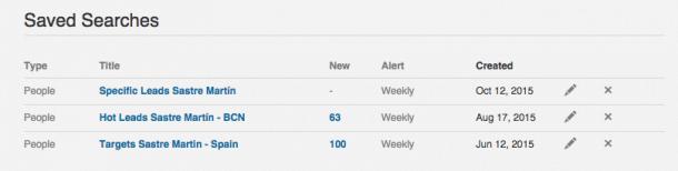 Guardar búsquedas en LinkedIn e1444820688938 LinkedIn: Cómo conseguir más clientes con las Búsquedas Avanzadas