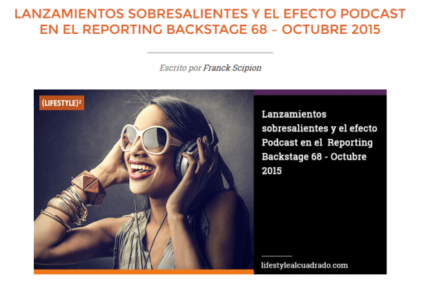 Reporting backstage 68 e1450913328631 2 Casos de Éxito (españoles) en Redes Sociales que te resultarán de mucha inspiración
