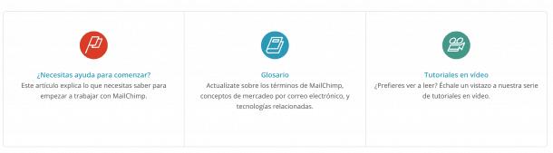 Soporte MailChimp