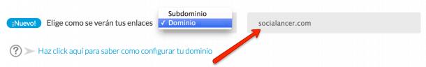 Verificar dominio acumbamail