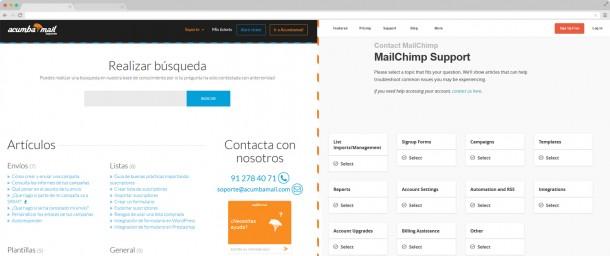 soporte-acumbamail-vs-mailchimp