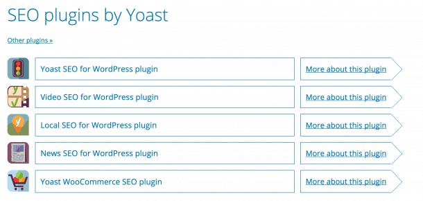 Plugin SEO Yoast
