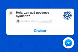 Facebook Messenger Ventana Chat