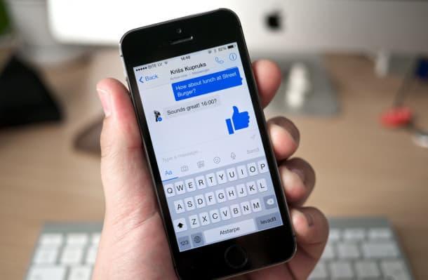 Facebook Messenger móvil
