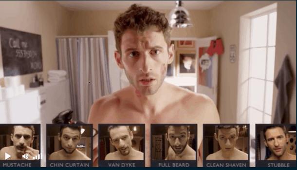 Interactr - Campaña barba