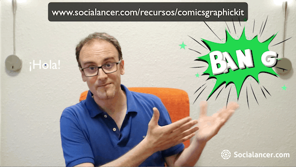 Comics Graphic Kit Socialancer