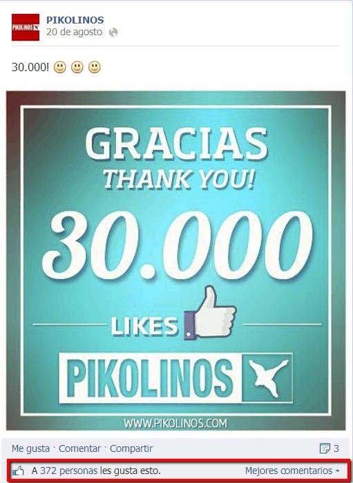 Pikolinos Socialancer Facebook