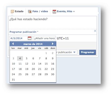Programar post Facebook Socialancer