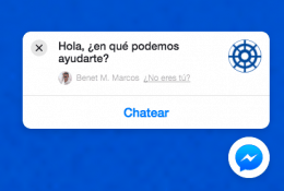 Facebook Messenger Ventana Chat