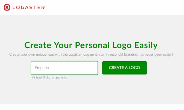 logaster logo design