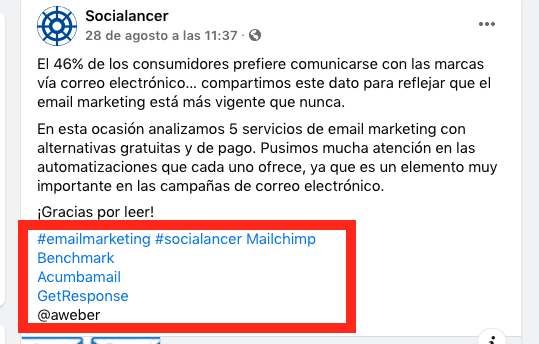 networking hashtag