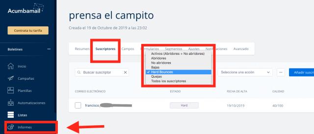 campanhas de email marketing acumbamail