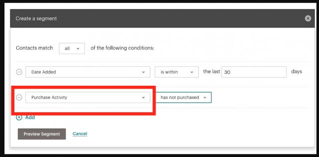 segmentar campanhas de marketing por e-mail